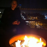 Photo taken at Hotel Shangri La Rooftop Bar by Jeff D. on 3/16/2011
