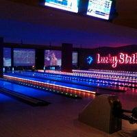 Photo taken at Lucky Strike by Dilara H. on 10/14/2011