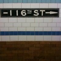 Photo taken at MTA Subway - 116th St/Columbia University (1) by Amy V. on 5/15/2011
