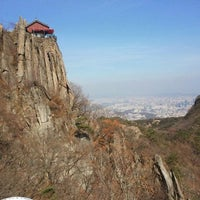 Photo taken at 관악산 연주대 by sunjoo p. on 11/1/2011