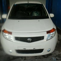 Photo taken at Main Dealer Proton-Edar Manado by milton l. on 11/21/2011