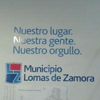 Photo taken at Municipalidad de Lomas de Zamora by Ezequiel G. on 5/8/2012