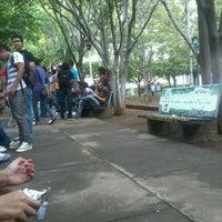 Photo taken at Pasarela UCA by Yader M. on 5/21/2012