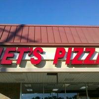 Photo taken at Jet's Pizza by Edward M. on 10/29/2011