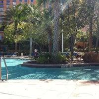 Photo taken at JW Marriott Grande Lakes Pool by Allison B. on 1/26/2012