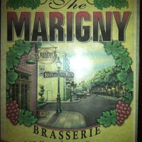 Photo taken at Marigny Brasserie by Lisa B. on 1/22/2012