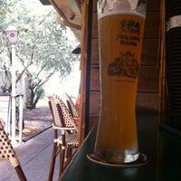 Photo taken at Bierbrunnen Pub by Tim D. on 5/11/2012