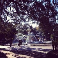 Photo taken at Forsyth Park by Nick R. on 11/13/2011