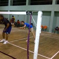 Photo taken at Shahaji Raje Krida Sankul (Andheri Sports Complex) by Upasana D. on 8/4/2012