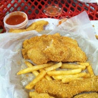 Photo taken at Pete's Fish & Chips by Virginia L. on 1/7/2012