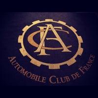 Photo taken at Automobile Club de France by Francois G. on 3/15/2012