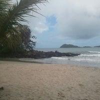 Photo taken at Praia Preta by Cristiano A. on 12/10/2011