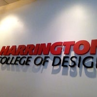 Photo taken at Harrington College of Design by Alejandra C. on 7/17/2012
