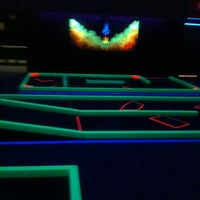 Photo taken at Glow Golf by Amy T. on 1/4/2012