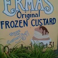 Photo taken at Erma's Frozen Custard by Kelli T. on 9/4/2011