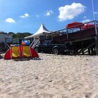 "Photo taken at Basic Beach Bar ""De Branding"" by Benno F. on 8/10/2012"