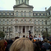 Photo taken at Baltimore City Hall by Aaron w. on 9/17/2011