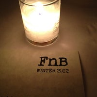 Photo taken at FnB by Garrett G. on 3/5/2012