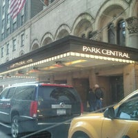 Photo taken at Park Central New York by AbatarCarService 7. on 1/24/2012