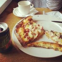 Photo taken at Nayra Cafe by Anu H. on 4/19/2012