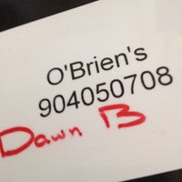Photo taken at O'Brien's Irish Pub & Restaurant by Dawn A. on 7/29/2012