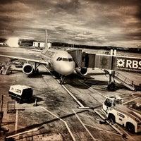 Photo taken at Edinburgh Airport (EDI) by Dirk S. on 8/26/2012
