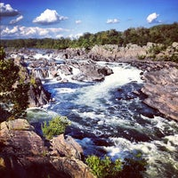 Photo taken at Great Falls Park by Tony L. on 9/9/2012