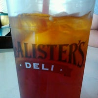 Photo taken at McAlisters Deli by Monica H. on 3/14/2012
