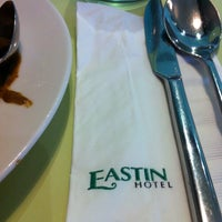 Photo taken at Eastin Hotel by Eason K. on 10/21/2011