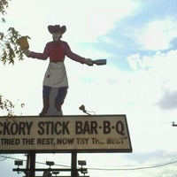 Photo taken at Hickory Stick BBQ by Twystid Trixxi on 9/16/2011
