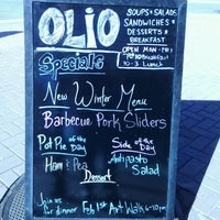 Photo taken at Olio by Jessica L. on 1/30/2012