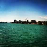 Photo taken at MacArthur Bridge by Detroiting on 9/11/2012
