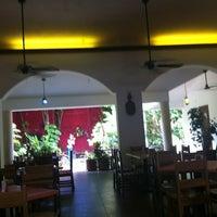 Photo taken at La Choza by Janette D. on 8/1/2012