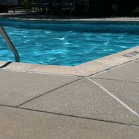 Photo taken at Pool side at Hampton Lakes by Tademy B. on 8/19/2011