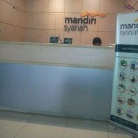 Photo taken at Bank Mandiri Syariah by Abi Dehya A. on 12/6/2011