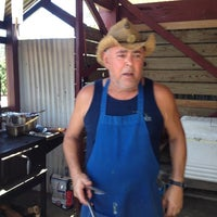 Photo taken at Hawi Chuckwagon Barbecue by John M. on 7/14/2012