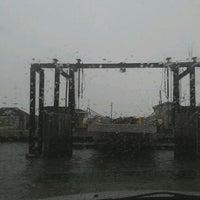 Photo taken at Hatteras-Ocracoke Ferry: Ocracoke Terminal by Tyrrellfox on 11/29/2011
