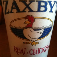 Photo taken at Zaxby's Chicken Fingers & Buffalo Wings by Michael F. on 4/12/2012