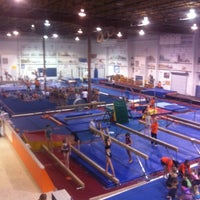 Photo taken at Gymquarters Gymnastics Center by LB P. on 2/16/2012