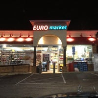 Photo taken at EuroMarket Mobil by Stephen W. on 2/29/2012
