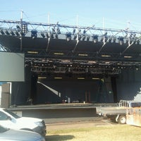 Photo taken at Darwin Amphitheatre by Rob S. on 8/14/2012