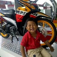 Photo taken at PT Astra International Tbk. - HONDA (HSO Yogyakarta) by afip l. on 10/21/2011