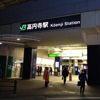 Photo taken at Kōenji Station by Toyota T. on 3/21/2012
