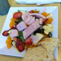 Photo taken at Crispers Fresh Salads, Soups and Sandwiches by Michele V. on 9/25/2011