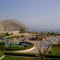 Photo taken at Golden Tulip Resort Dibba by Karan K. on 1/14/2012
