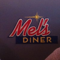 Photo taken at Mel's Diner by Carlos S. on 8/14/2011