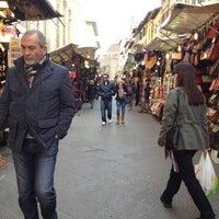 Photo taken at Mercatino di San Lorenzo by Nina M. on 3/2/2012