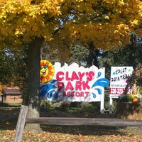 Photo taken at Clay's Park Resort by Amy B. on 10/8/2011