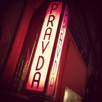 Photo taken at Pravda by Elsie L. on 11/3/2011