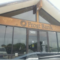 Photo taken at Frost Bank by Daniel A. on 5/8/2012